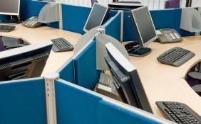 Workspace divider screen