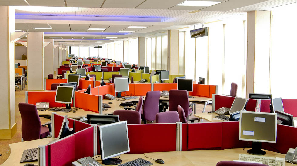 Office Layout Planner moreover 12 Easy Diy Halloween Decorations also Cubicle Shield Overhead Light likewise How I Designed A Super Productive Desk Setup likewise Blue And Brown Office Decorating Ideas Minimalist. on cubicle decor desk