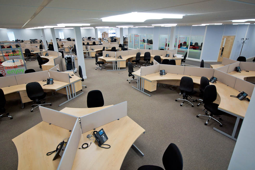 Call Centre Design And Furniture