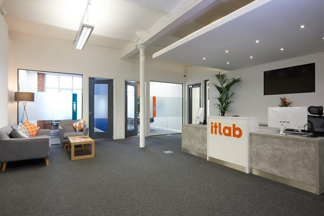 Reception Area at IT Lab
